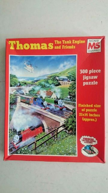 Vintage Thomas the Tank Engine and Friends  300 Piece Jigsaw 1986